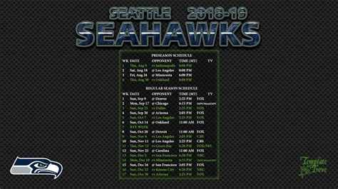 seattle seahawks wallpaper schedule