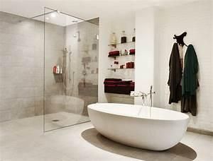 Badezimmer Mit Freistehender Badewanne : duschboard individuell ebenerdig befliesbar ~ Bigdaddyawards.com Haus und Dekorationen