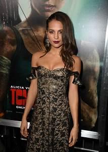 Alicia Vikander Photos Photos - Premiere Of Warner Bros  Pictures U0026 39   U0026 39 Tomb Raider U0026 39