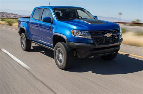 Chevrolet Colorado Zr2 2018 Motor Trend Truck Of The Year