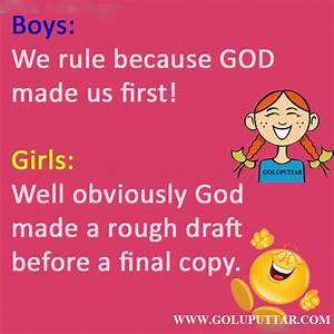 Funny Jokes On Boys Insult | Goluputtar