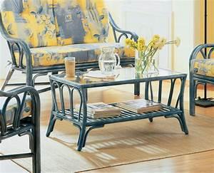 Table Basse Rotin : table basse de salon en rotin brin d 39 ouest ~ Teatrodelosmanantiales.com Idées de Décoration