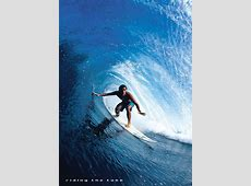 Riding the tube surfing Poster Sold at Europosters