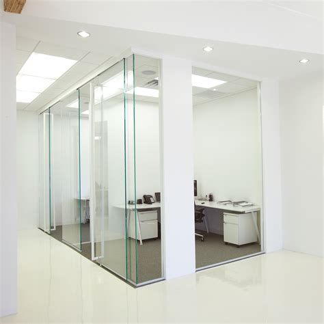interior glass walls dormakaba interior glass wall systems transparency and