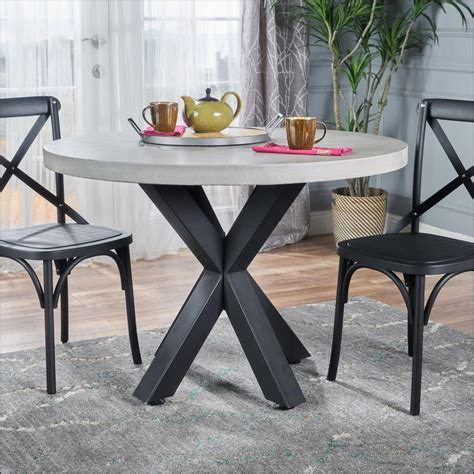 As you can see, white and beige are the most popular colors when it comes to beach home coffee tables. 77 Lovely Beach themed Coffee Table 2018   Round concrete dining table, Concrete dining table ...