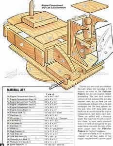 Wooden Toy Digger Plans • WoodArchivist