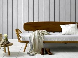 Papier Peint Imitation Lambris : le papier peint a effet fait le mur chez leroy merlin d co ~ Melissatoandfro.com Idées de Décoration