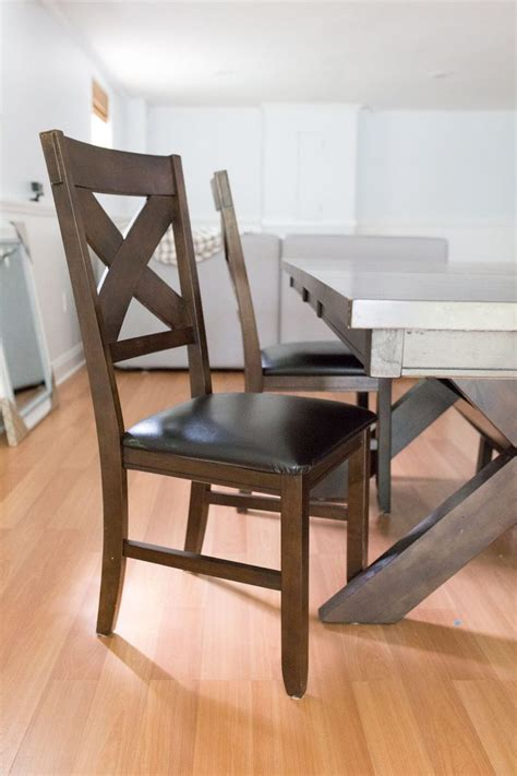 diy chalk paint dining table  chairs