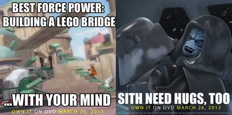 Lego Star Wars Memes - lego star wars the empire strikes out issues preemptive memes for impending dvd release