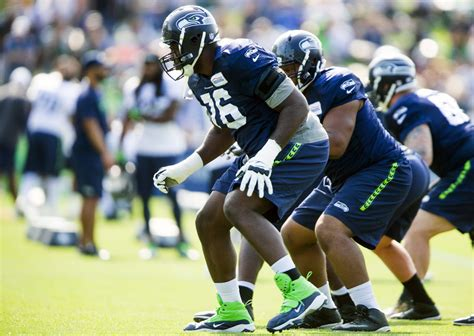 seahawks training camp aug   seattle times
