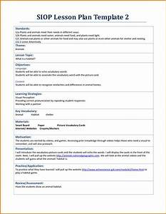 best 25 lesson plan template doc ideas on pinterest With siop lesson plan template 2 example