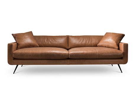 sofa leder cognac cognac lederen sofa stan 270 cm furnified sofa leder cognac frische haus