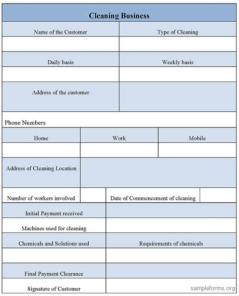 business form templates exle mughals