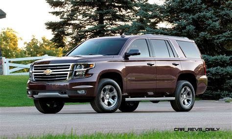 2015 Chevrolet Tahoe And Suburban Add Z71 Offroad Package