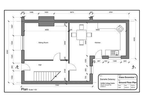 Class Exercise 1_simple House Plan-plan A4