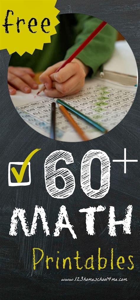 math worksheets    math printables prek