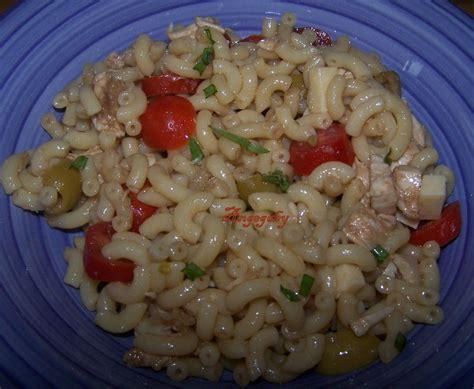 salade de p 226 te au poulet r 244 ti aux petits plaisirs gourmands