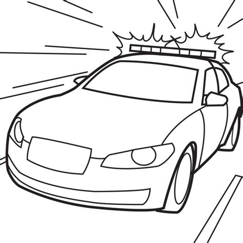 Police Coloring Pages Of Things Coloring Pages