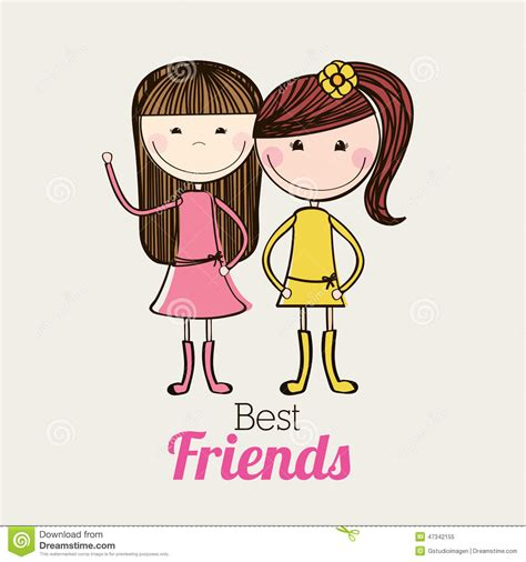 friends design stock vector image