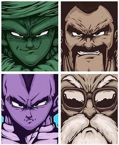 Vector Poster Design Inspiration - Dragon Ball Z - Daily ...