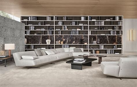 Living Room L Sydney by Divani Poliform Sydney