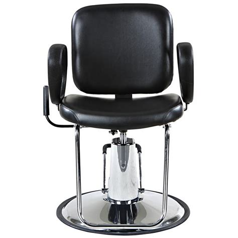reclining salon chair used quot lombard quot reclining salon styling chair base ebay
