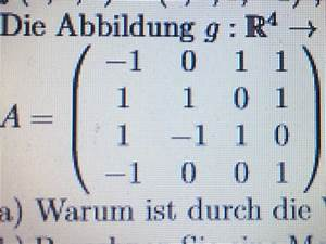 Abbildungsmatrix Berechnen : isomorphimus einer linearen abbildung mathelounge ~ Themetempest.com Abrechnung