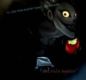 Death Note Ryuk Quotes. QuotesGram