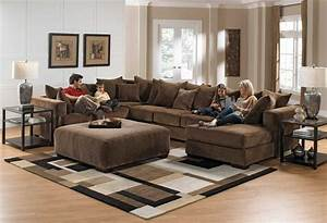 Jackson ferguson sectional sofa set d leather color jf for Jackson furniture sectional sofa