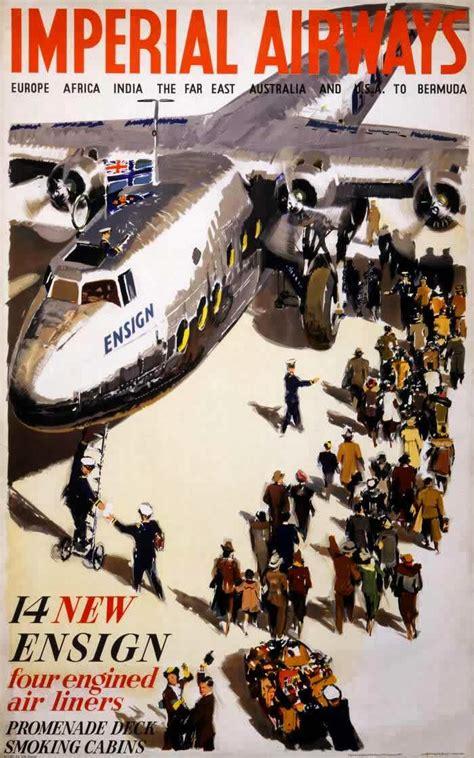 vintage british aviation posters ca