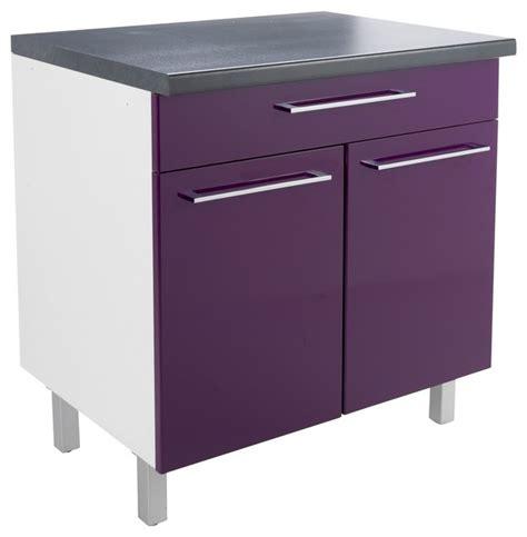 buffet cuisine but buffet vita meuble de cuisine 2 portes 1 tiroir 80cm