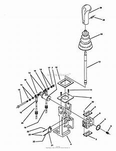 Snapper Z1805kv  80919  18 Hp Hydrogear Drive Ztr Series 5 Parts Diagram For Joystick Steering