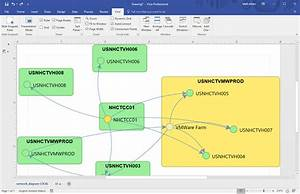 Import A Device42 Dependency Or Topology Chart Into Visio