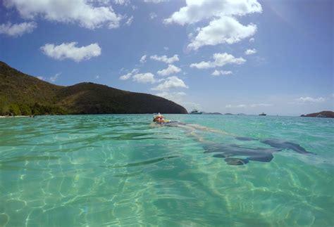 Wish You Were Here: Floating Around Maho Bay, St. John ...