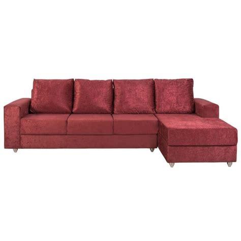 sofá suede amassado é bom sof 225 4 lugares chaise jaragua suede amassado vinho