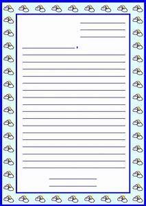 letter writing template for kids new calendar template site With letter writing paper for kids