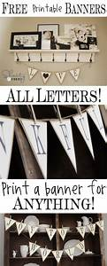 Free Printable Whole Alphabet Banner - Shanty 2 Chic