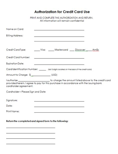 credit card info form search sja sle resume credit card application letter form