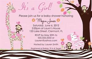 Girl Baby Shower Invitations Templates | THERUNTIME.COM