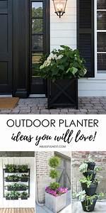 Front, Porch, Outdoor, Planter, Ideas, You, U0026, 39, Ll, Love