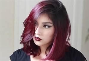 Coloration Cheveux Court : le burgundy la nouvelle tendance coloration qui revient en force ~ Melissatoandfro.com Idées de Décoration