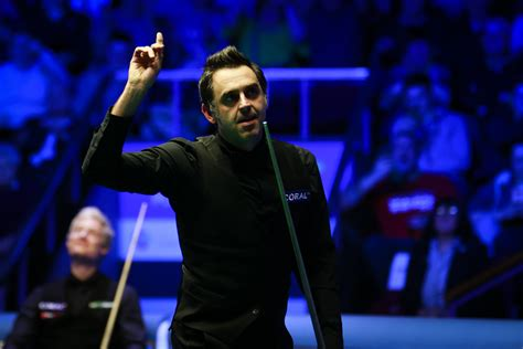 The world snooker championship is participating in the government's events research programme. Rocket Makes 1,000th Century To Seal Title - World Snooker