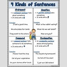 Best 25+ Kinds Of Sentences Ideas On Pinterest  Types Of