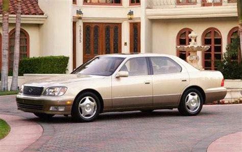 lexus sedan 2000 used 2000 lexus ls 400 sedan pricing features edmunds