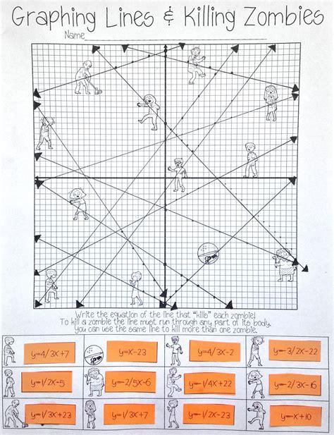 worksheet graphing in slope intercept form worksheet
