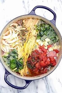 one pot tomato basil pasta recipe keeprecipes