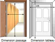 dimension cadre de porte standard devis porte d entr 233 e prix de pose d une porte ext 233 rieur
