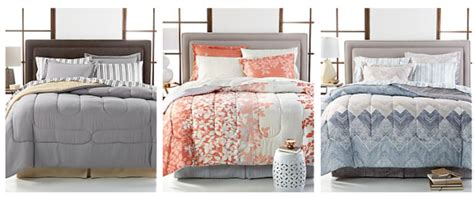 Macy's 8pc Comforter Sets Only .99