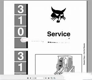 Bobcat Full Set Service Manual