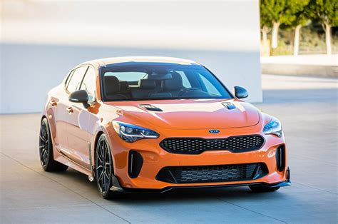 Kia Brings Two Modified Stinger Gt Show Cars To Sema